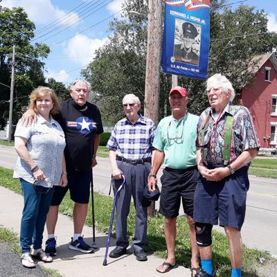 Oldest-living Salamanca WWII vet among recent banner recipients