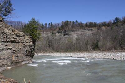 State, county crews working on plan to remove fuel tank from Cattaraugus Creek