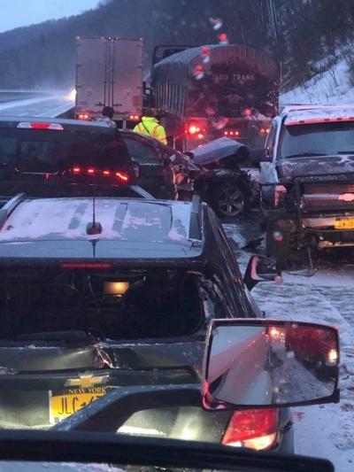 Interstate 86 crash