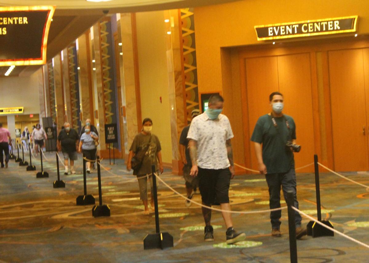 Seneca Allegany Casino Reopens To Public News Oleantimesherald Com