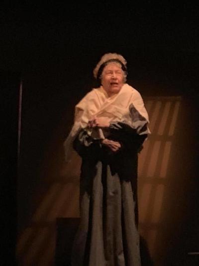 Sandra Mulryan plays Tituba
