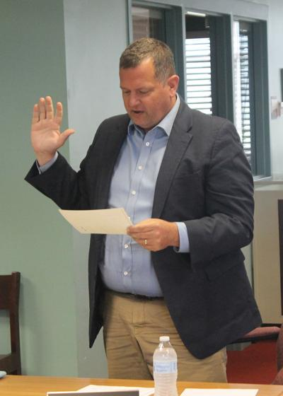 Wicklin named Ellicottville School Board president, Chudy sworn in