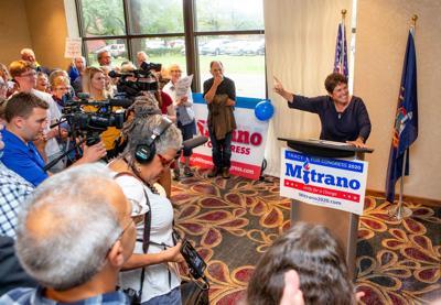 Mitrano formally launches campaign