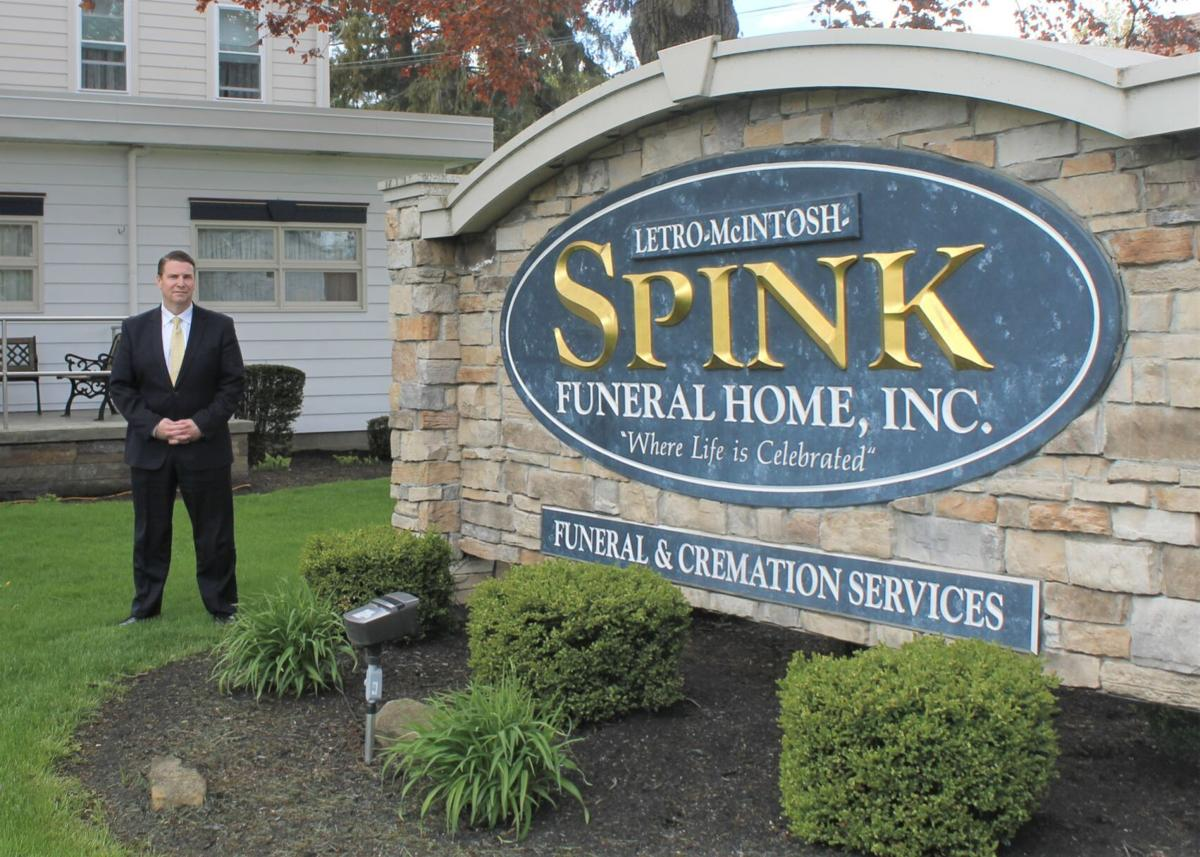 Spink family looks back — and ahead — in funeral home's 90th anniversary year