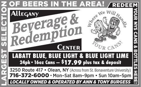 Allegany Beverage & Redemption Center