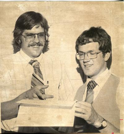 Bill Fitzpatrick and Dennis Casey in 1979