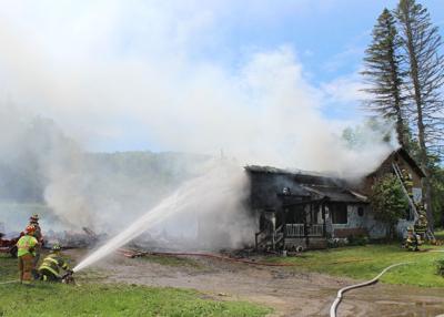 3719 Humphrey Road Fire