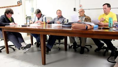 Members of the Farmersville Town Board