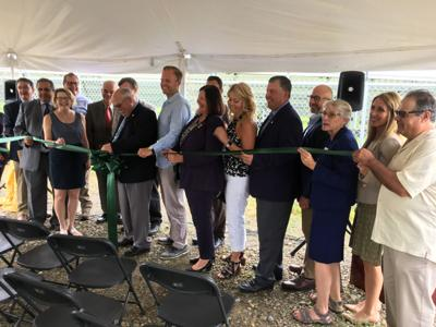 Ribbon cutting held for Olean's third solar farm