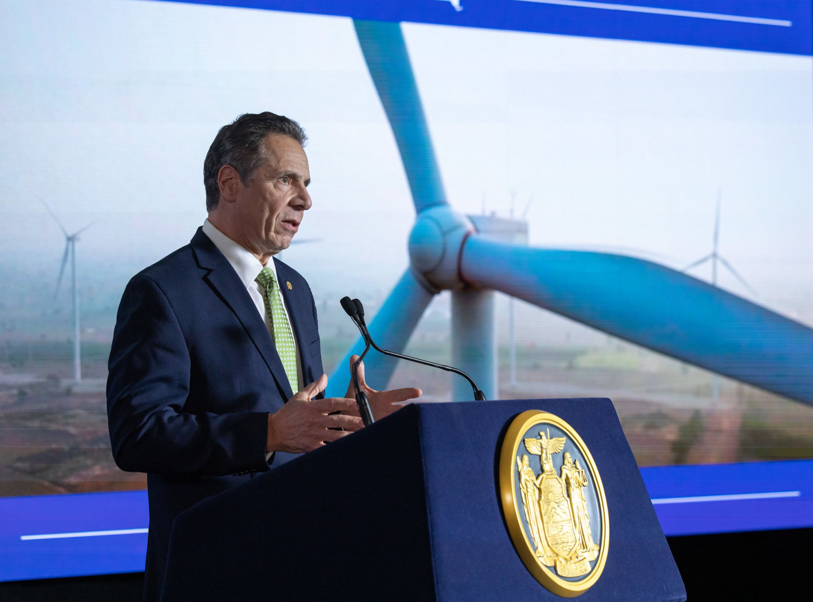 Cuomo outlines ambitious green dreams