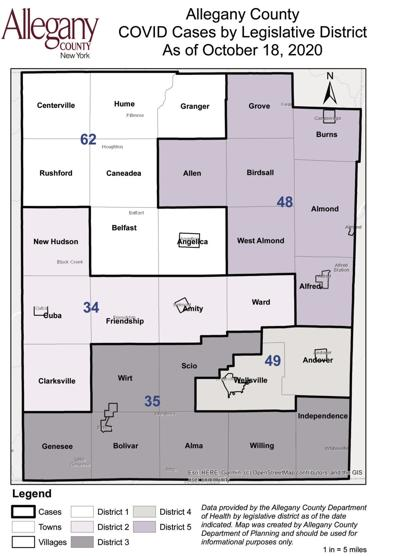 Allegany County map