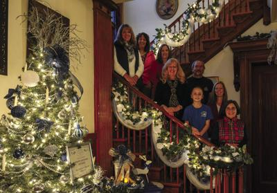House Preps For Victorian Christmas