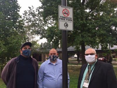 City parks smoke-free