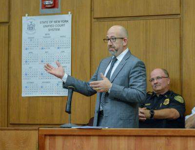 Olean city attorney Nick DiCerbo