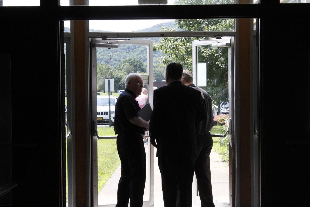 Bishop Malone leaves listening session