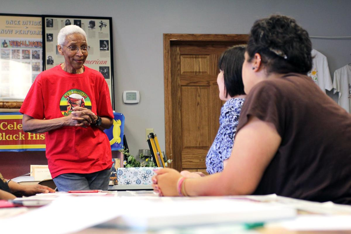 Della Moore, head of the African American Center for Cultural Development