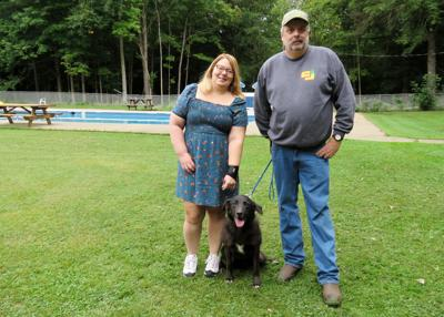Lucky 'Lady' saved from drowning by Cattaraugus man