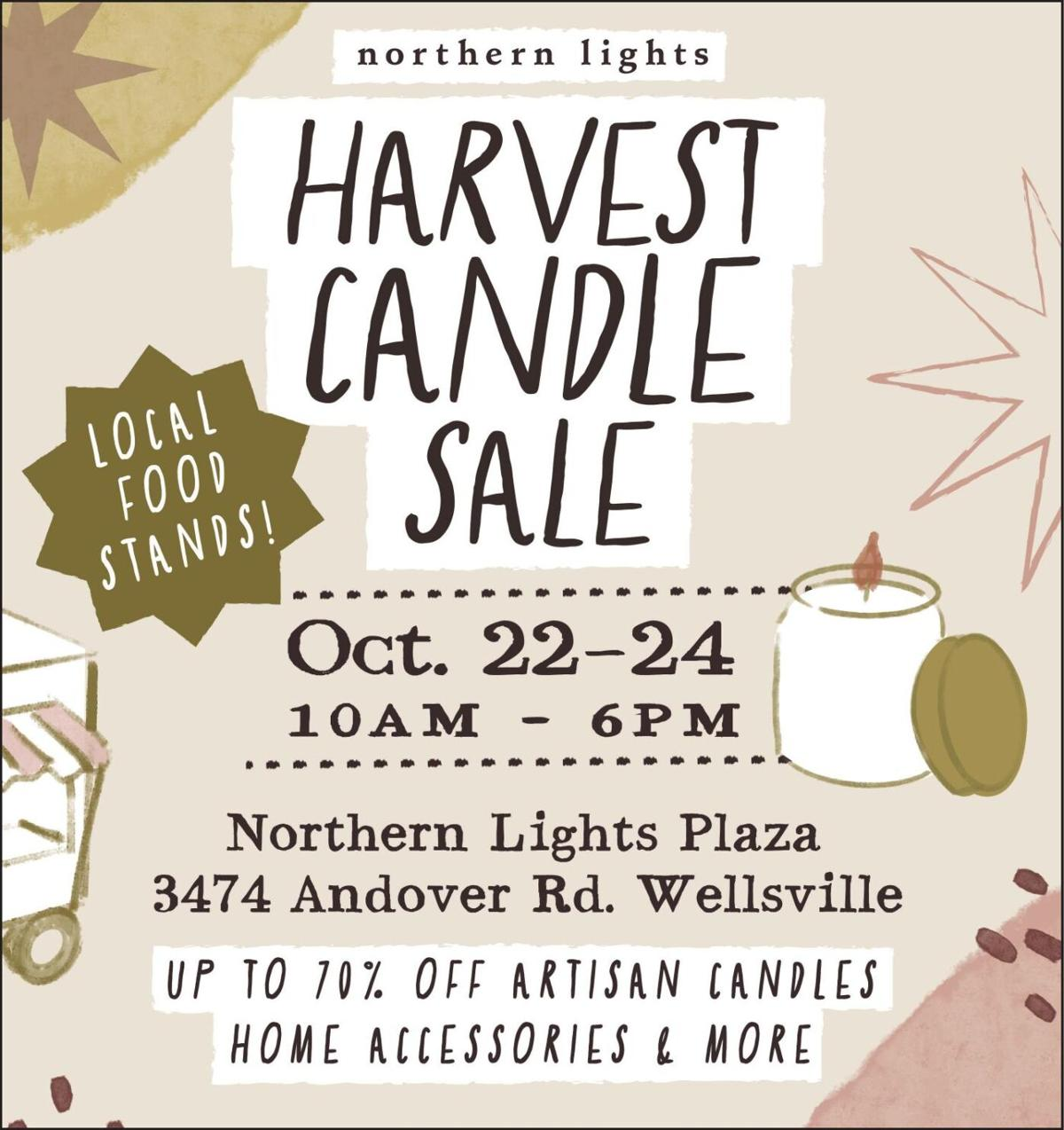 Harvest Candle Sale