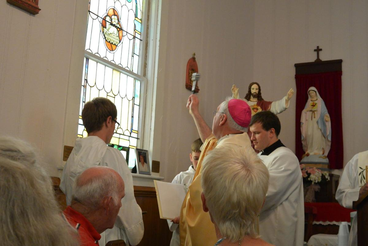 Bishop blesses and dedicates windows