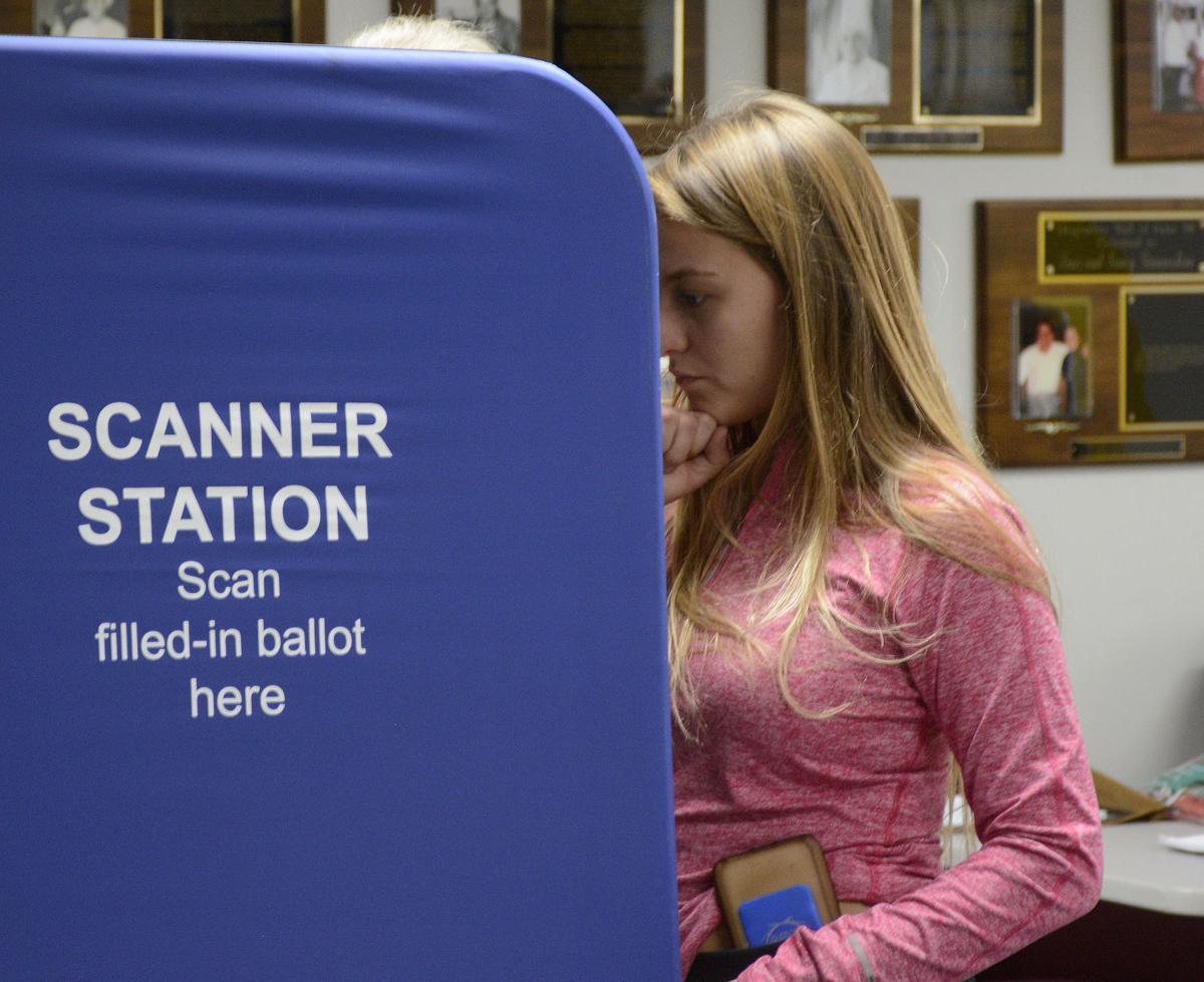 Early voting in Olean