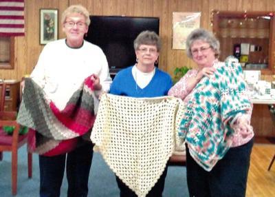 Salamanca senior crafters donate to HomeCare & Hospice