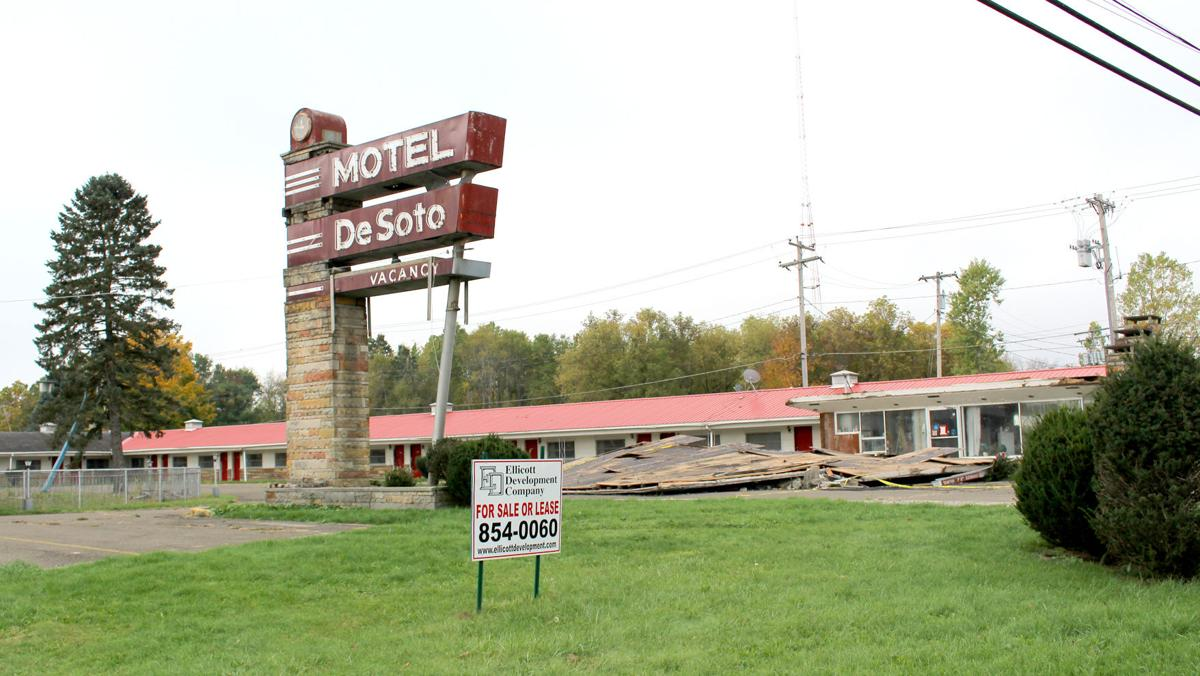 The Former Motel Desoto Once An Anchor In Local Hospitality Industry Is Headed For Demolition Coming Weeks Officials From Ellicott Development