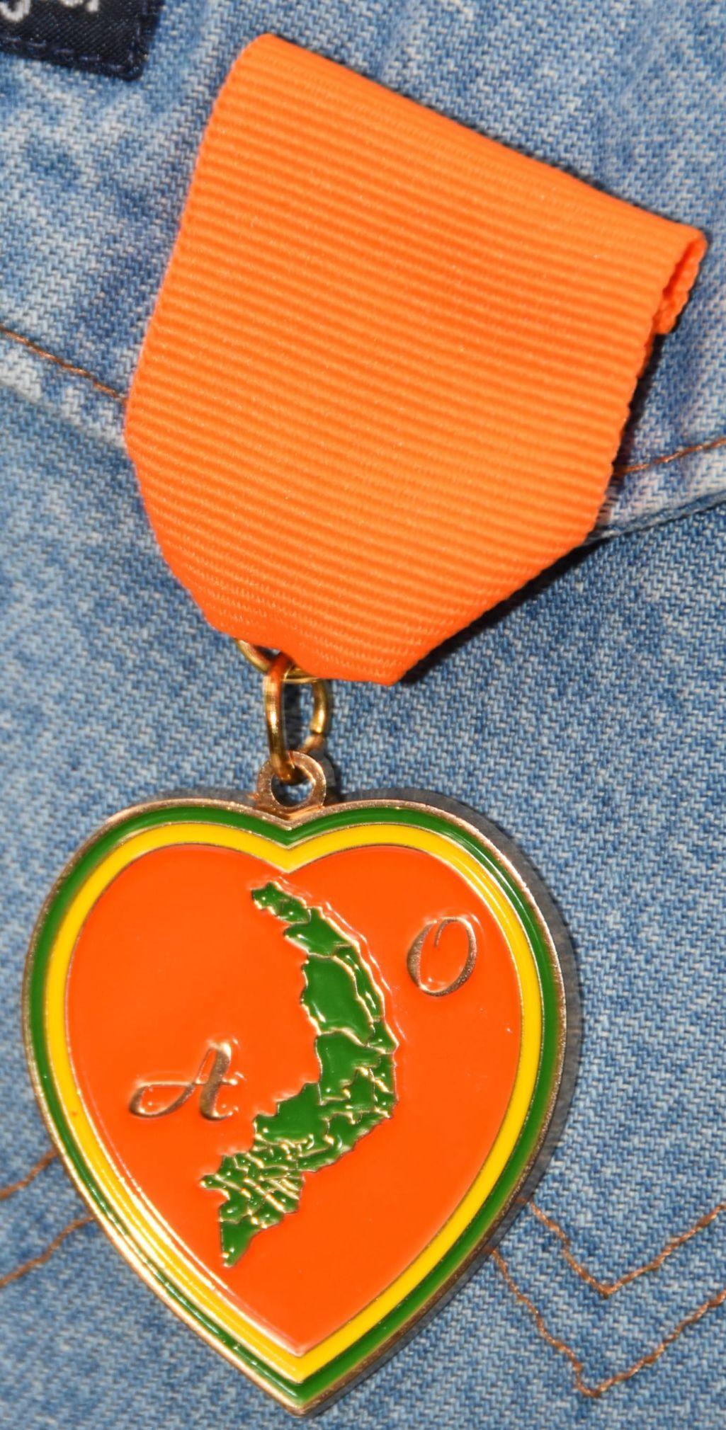 Agent Orange Heart Medal