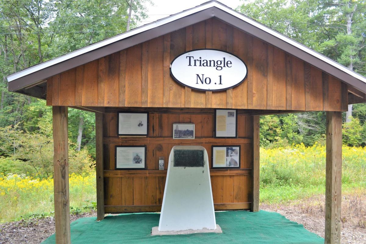 Triangle No. 1 pavilion