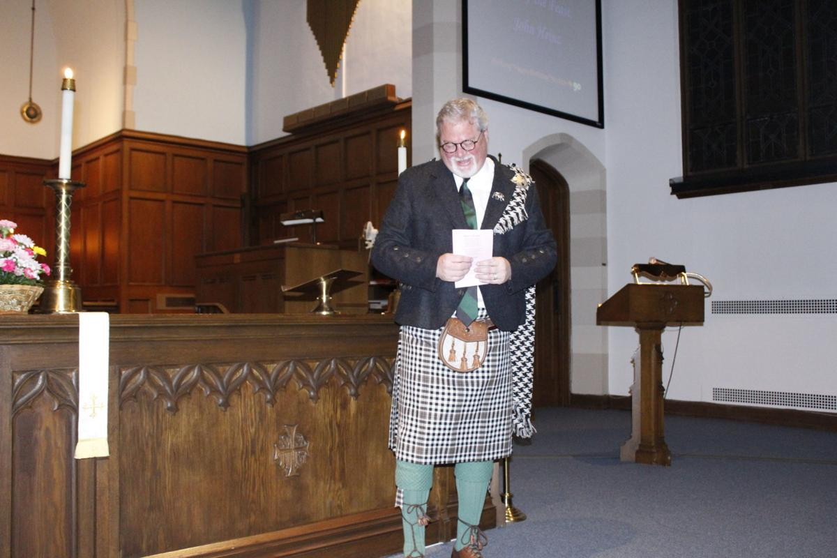 Pastor in a kilt