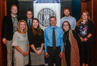 Olean Area Young Professionals award recipients