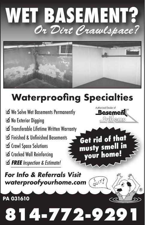 Waterproofing Specialties