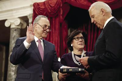 Sen Schumer Says Democrats To Hold Trump Accountable News Oleantimesherald Com Iris weinshall is a vice chancellor at the city university of new york and a former commissioner of the new york city. sen schumer says democrats to hold
