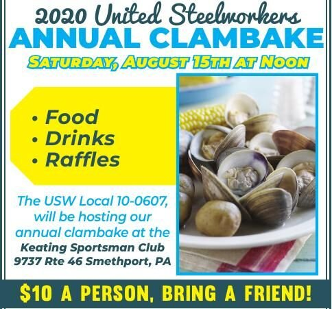 United Steelworkers Annual Clambake