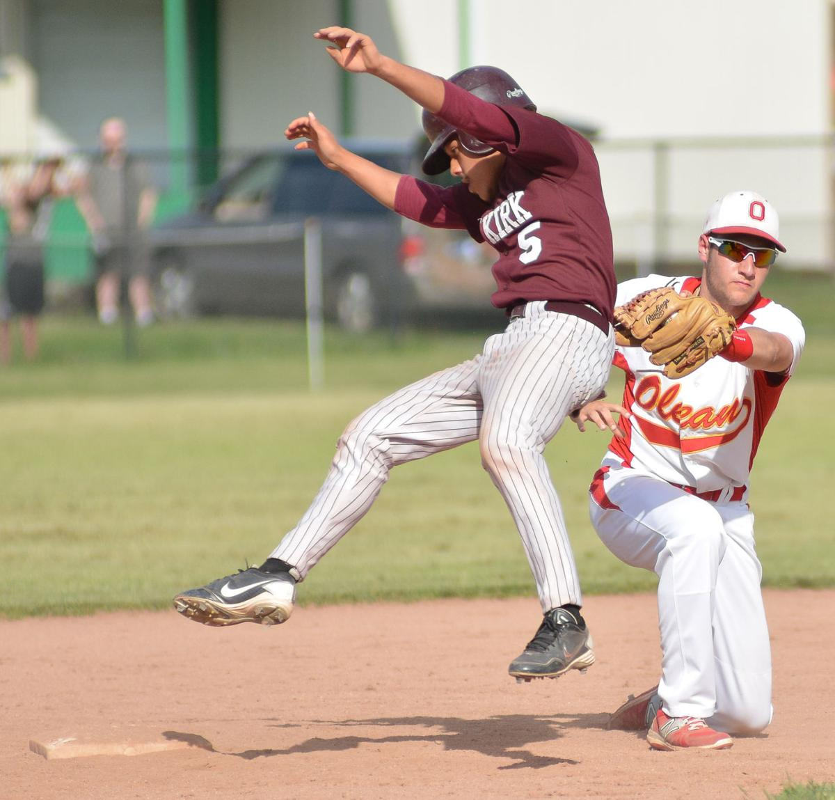 Olean Class Cars: Sec. 6 Baseball: Olean Routs Dunkirk, 19-1