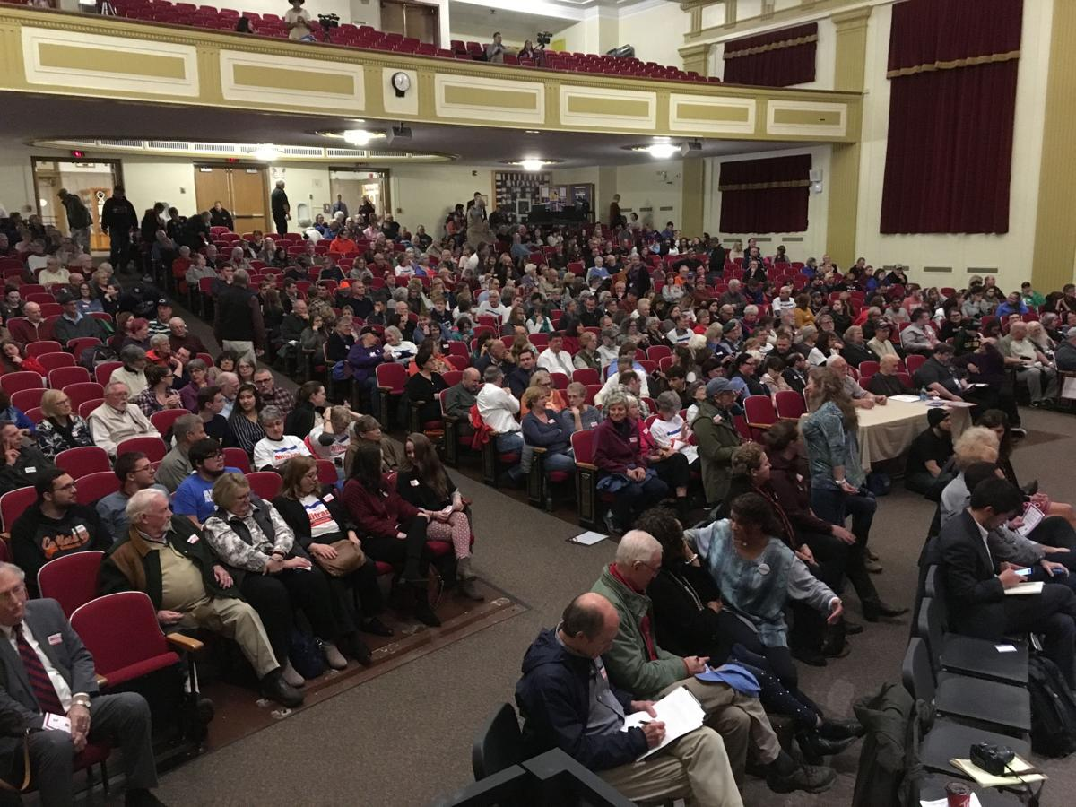 Photos from the Olean Times Herald/League of Women Voters Congressional Debate