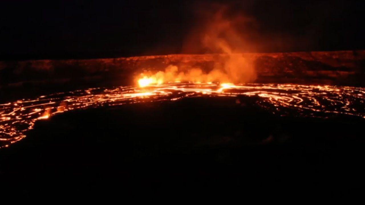 Video Shows Kilauea Volcanoes u0027Curtain of