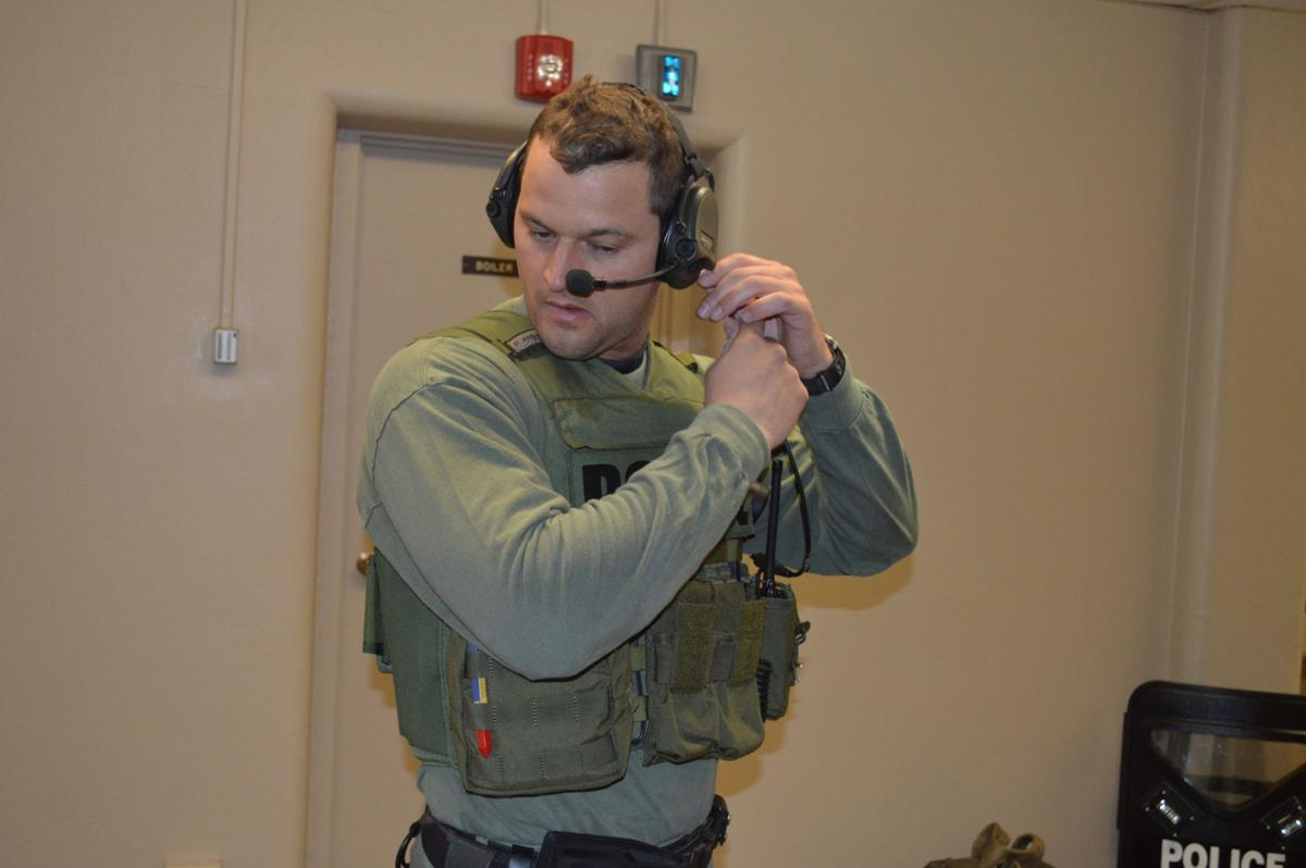 Olean Police drill on active shooters, bomb threats (with