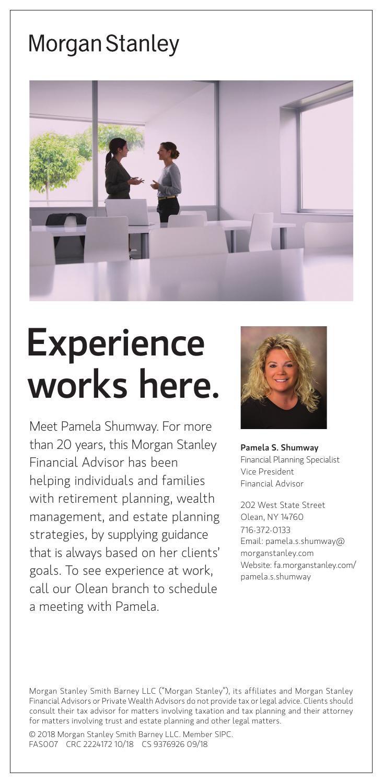 Morgan Stanley | Ads To Go | oleantimesherald com