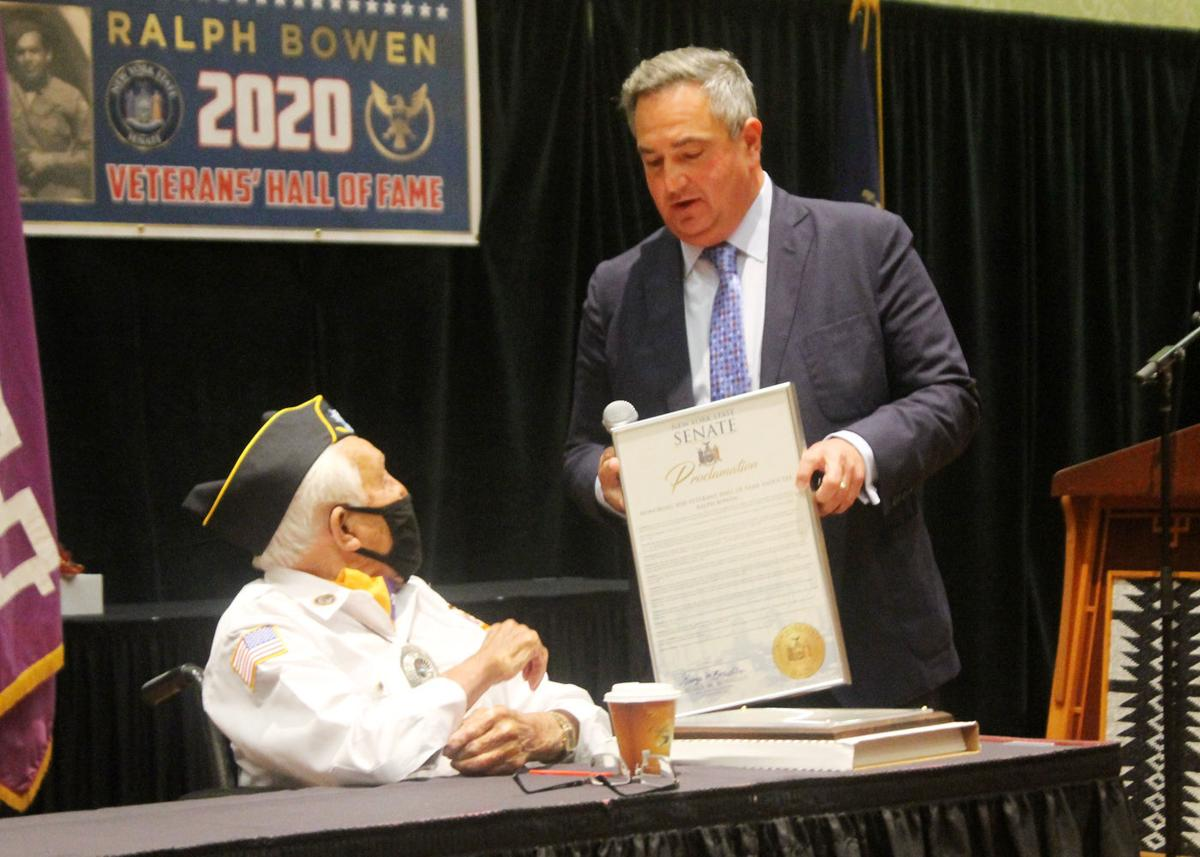 Seneca vet Bowen inducted into NYS Veterans' Hall of Fame