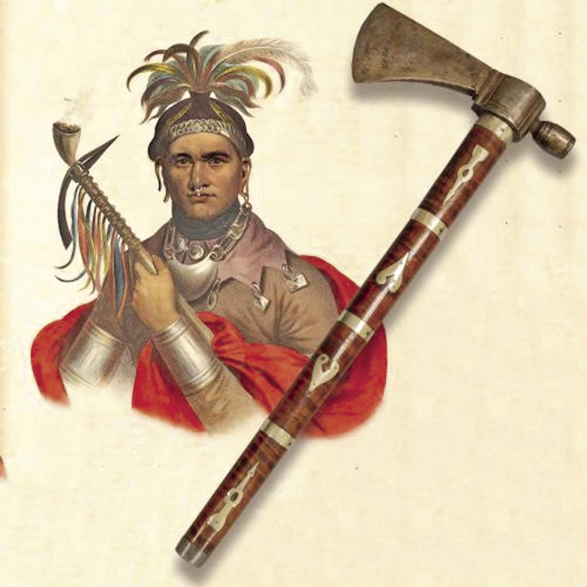 Missing Cornplanter peace pipe-tomahawk returning to Seneca