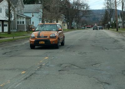 Salamanca city roads in need of repair
