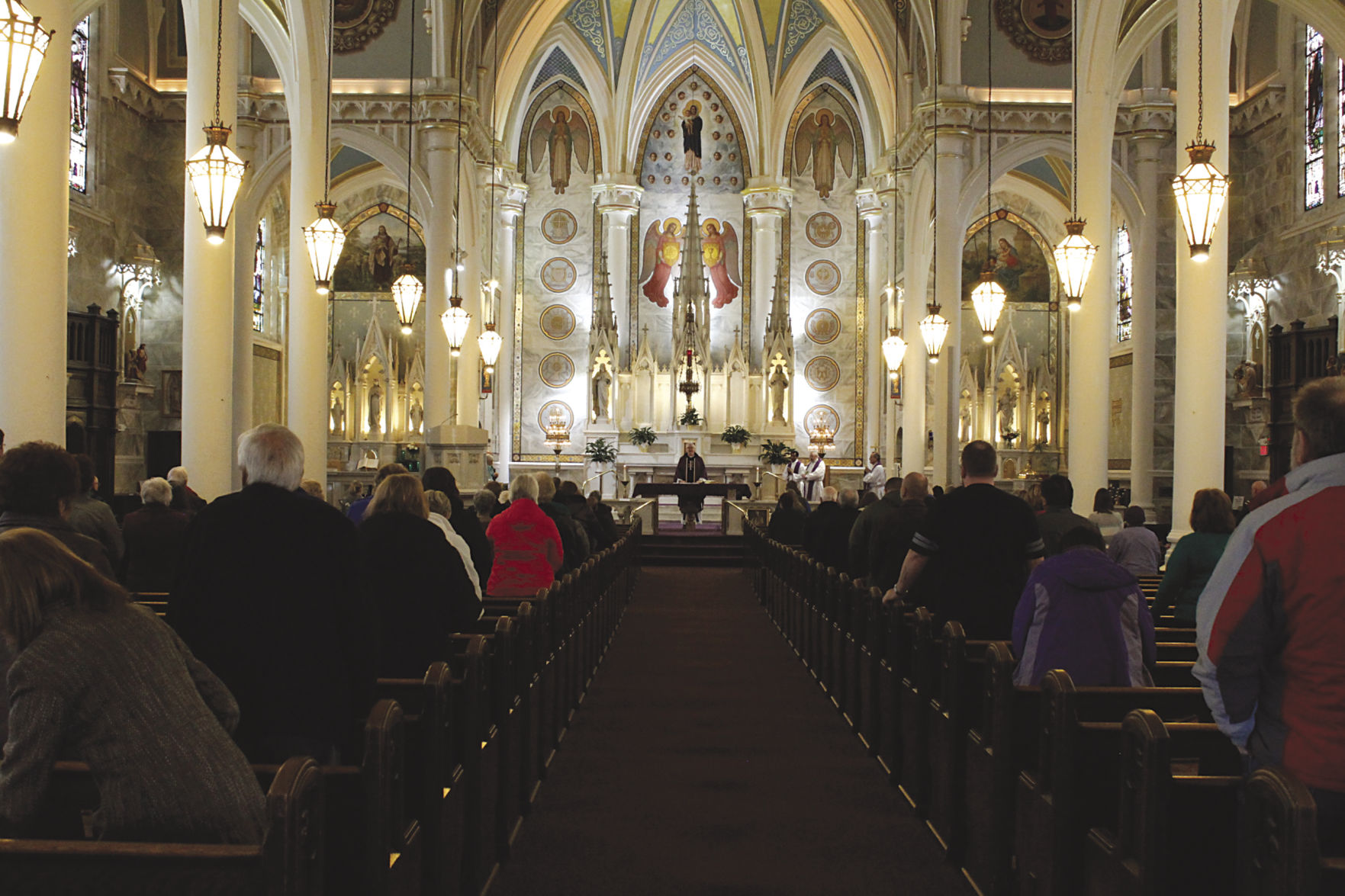 The 102 year old Roman Catholic church has been