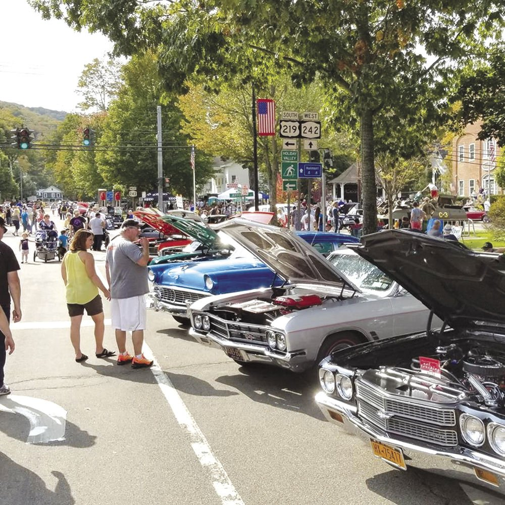 Rock N Roll In Ellicottville This Weekend News - Jefferson car show