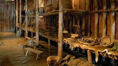 Iroquoian longhouse