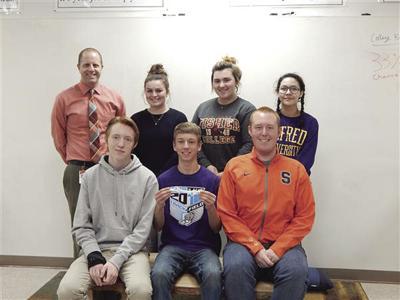 Wellsville team SSEP competition
