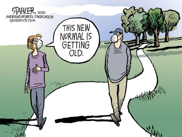 New Normal Editorial Cartoons Oleantimesherald Com