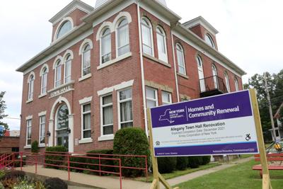 Renovation, remodeling underway at Allegany Town Hall
