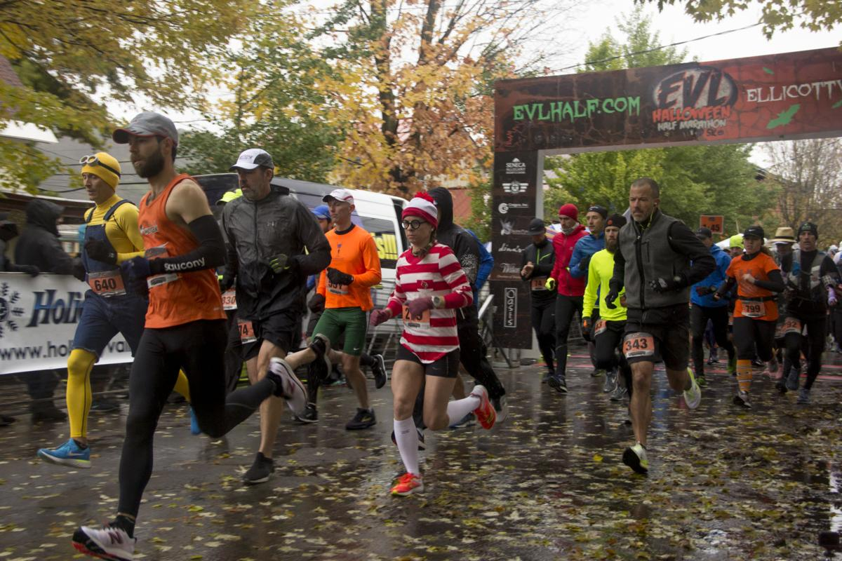 EVL Halloween Half Marathon and 5k 2018