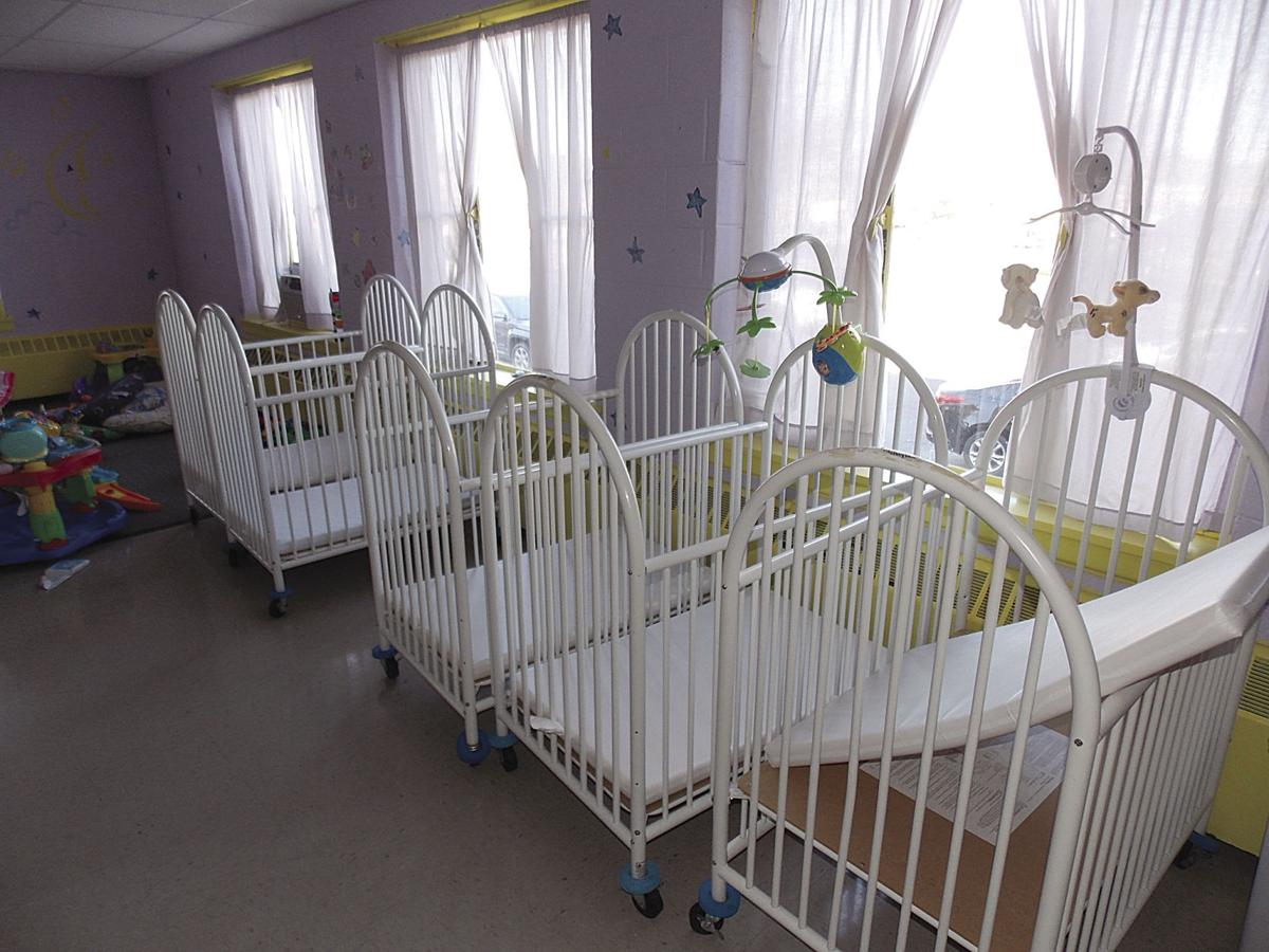Baby cribs for daycare centers - Empty Cribs Are Among Items That Will Be Sold By The Olean Child Day Care Center Which Announced It Will Close Its Doors For Good After Receiving Word Its