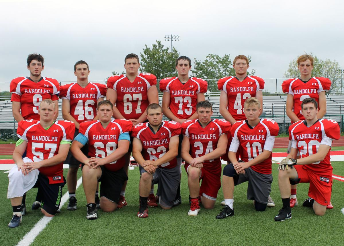 Randolph/Frewsburg Football 2018 Returning Lettermen